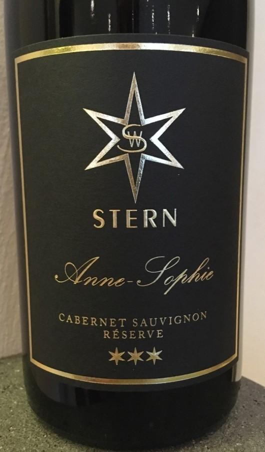 2018 Cabernet Sauvignon Réserve -Anne-Sophie-